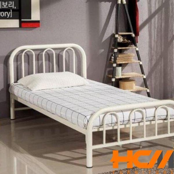 Giường sắt cách điện sơn tĩnh điện trắng